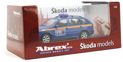 Abrex modelauto verpakking