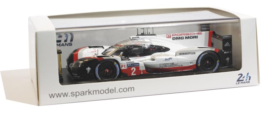 Modelauto verpakking Spark S-Serie 1:43