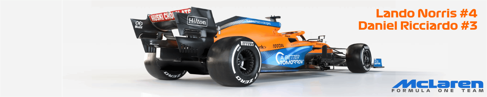 2021 McLaren Formula One Team MCL35M