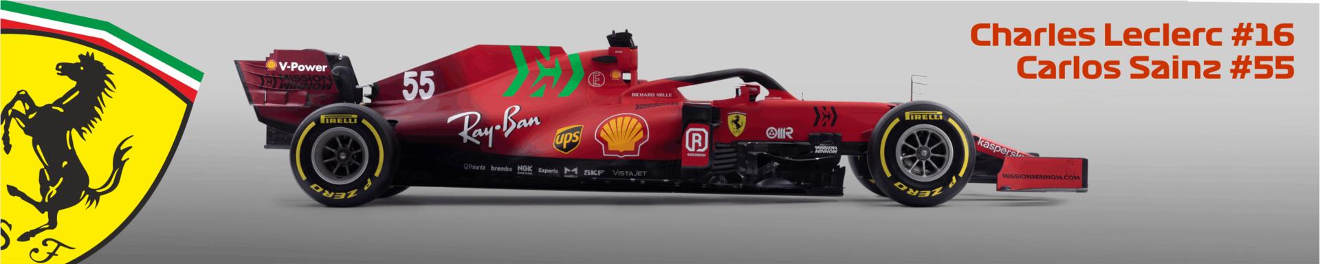 2021 Scuderia Ferrari Logo
