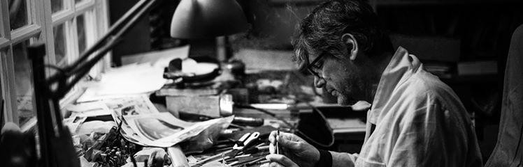 Jean-Philippe Boyer aan het werk in zijn werkplaats in Le Mans