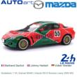 Modelauto 1:18 | Autoart 80443 | Mazda RX-8 Renesis Livery 2005 #55