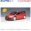 Modelauto 1:18 | Autoart 80736 | Citroën C4 Rood 2004