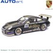 Modelauto 1:18 | Autoart 02112517 | Porsche 911 GT3 Cup Zwart / Goud 2007 #88