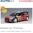 Modelauto 1:18 | Autoart 80839 | Citroën C4 WRC Rood 2008 #1
