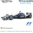 Modelauto 1:18 | Hotwheels 50168 | Williams FW23 BMW Williams 2001 #5