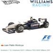 Modelauto 1:18 | Hotwheels 50201 | Williams FW23 BMW Williams 2001