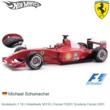 Modelauto 1:18 | Hotwheels 56133 | Ferrari F2001 Scuderia Ferrari 2001