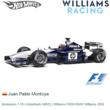 Modelauto 1:18 | Hotwheels 54625 | Williams FW24 BMW Williams 2002