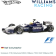 Modelauto 1:18 | Hotwheels 54624 | Williams FW24 BMW Williams 2002