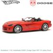 Modelauto 1:18 | Hotwheels 53836 | Dodge Viper SRT-10 cabrio Rood