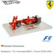 Modelauto 1:18 | Hotwheels B6221 | Ferrari F2004 2004
