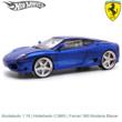 Modelauto 1:18 | Hotwheels C3865 | Ferrari 360 Modena Blauw