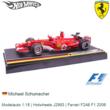 Modelauto 1:18 | Hotwheels J2993 | Ferrari F248 F1 2006