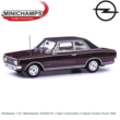 Modelauto 1:43 | Minichamps 430046161 | Opel Commodore A Saloon Donker Rood 1966