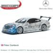 Modelauto 1:43 | Minichamps 430003719 | Mercedes Benz CLK Persson 2000 #19
