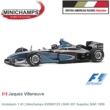 Modelauto 1:43 | Minichamps 430990120 | BAR 001 Supertec BAR 1999