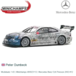 Modelauto 1:43 | Minichamps 400023112 | Mercedes Benz CLK Persson 2002 #12