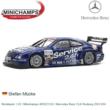 Modelauto 1:43 | Minichamps 400023124 | Mercedes Benz CLK Rosberg 2002 #24