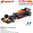 Modelauto 1:18 | Spark 18S305 | Red Bull RB13 Tag Heuer | Red Bull Racing 2017 #33 China / Shanghai
