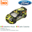 Modelauto 1:18 | IXO-Models 18RMC014 | Ford Fiesta RS WRC 2014 #46 italië / Monza