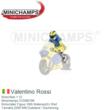 Motorfiets 1:12 | Minichamps 312060196 | Motorrijder Figuur With MaterazziI's Shirt | Yamaha 2006 #46 Duitsland / Sachenring