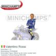 Motorfiets 1:12 | Minichamps 312049046 | Motorrijder Figuur Zittend op de motor zonder helm | Gauloises Fortuna Racing 2004 #46