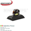 Motorfiets 1:8 | Minichamps 397079046 | Helm AGV | Fiat Yahama 2007 #46 Jerez