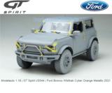 Modelauto 1:18 | GT Spirit US044 | Ford Bronco Wildtrak Cyber Orange Metallic 2021