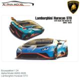 Bouwpakket 1:24   Alpha Model AM02-0026   Lamborghini Huracan STO