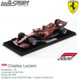 Modelauto 1:18 | Looksmart LS18F1031 | Ferrari SF1000 | Scuderia Ferrari 2020 #16 Italy / Tuscany Grand Prix