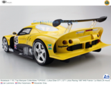 Modelauto 1:18 | Top Marques Collectibles TOP055C | Lotus Elise GT1 | GT1 Lotus Racing 1997 #49 France / Le Mans 24 Hours