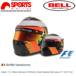 Helm 1:2 | Mini Helmet 4100544 | Bell Helmet McLaren F1 2017 #2