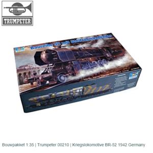Bouwpakket 1:35   Trumpeter 00210   Kriegslokomotive BR-52 1942 Germany