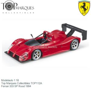 Modelauto 1:18 | Top Marques Collectibles TOP112A | Ferrari 333 SP Rood 1994