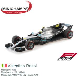 Modelauto 1:18   Minichamps 110191746   Mercedes AMG W10 EQ Power 2019