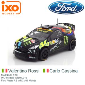 Modelauto 1:18 | IXO-Models 18RMC016 | Ford Fiesta RS WRC #46 Monza
